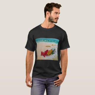 Der wertlosstrand bereiten vor T-Shirt