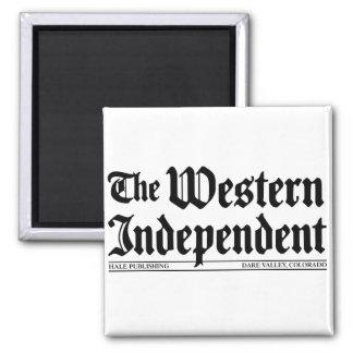 """""""Der Western-Unabhängig-"""" Magnet Quadratischer Magnet"""