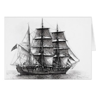 Der Whaler Charles W. Morgan Karte