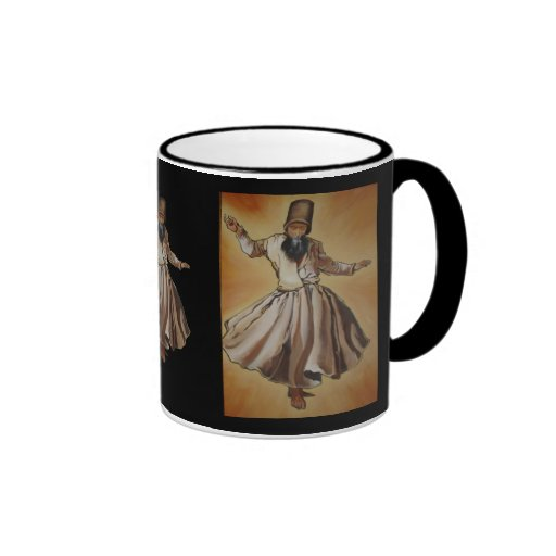 Der Whirling Derwisch Kaffeetasse