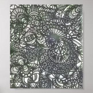 Der Wicklungs-Wurm A1 Poster