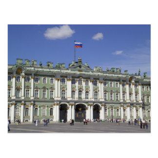 Der Winter-Palast, St Petersburg, Russland (RF) Postkarte