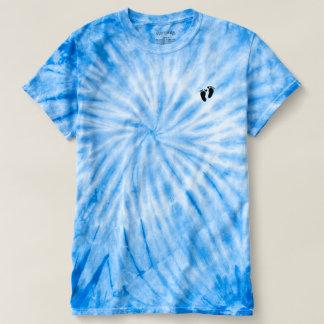 Der Wirbelsturm-Krawatten-Abdruck-T - Shirt der