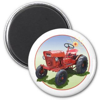 Der Wirtschafts-Traktor Runder Magnet 5,7 Cm