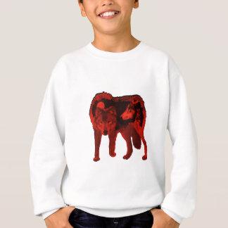 Der Wolf innen Sweatshirt