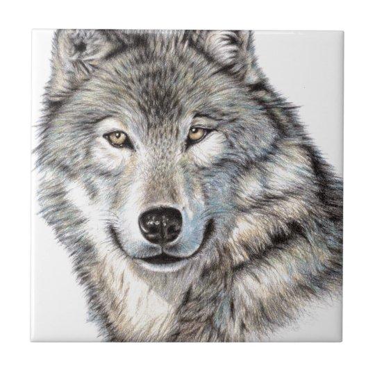 Der Wolf - The Wolf Keramikfliese