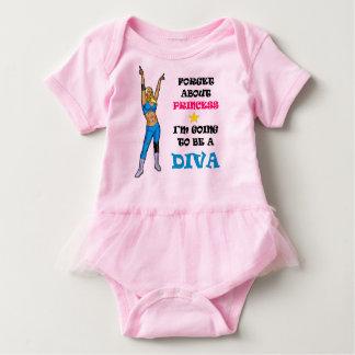 Der Wrestling-DivaTutu Baby Strampler