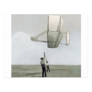 Der Wright-Brudersegelflugzeug-Flyer Postkarten