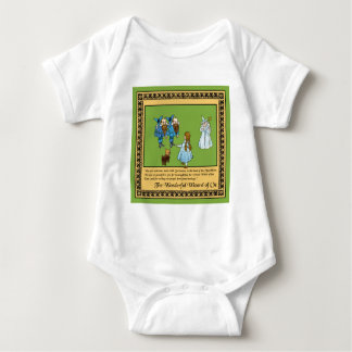 Der wunderbare Zauberer von Oz Baby Strampler