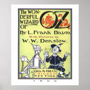Der wunderbare Zauberer von Oz Poster