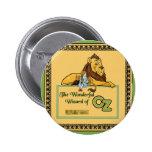 Der wunderbare Zauberer von Oz Runder Button 5,7 Cm