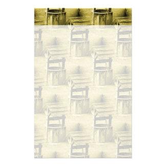 Der Wunsch des wohlen Musters verblaßte Vintages T Druckpapier