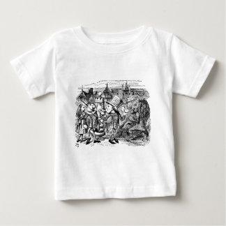 Der wütende Hutmacher im Märchenland Baby T-shirt