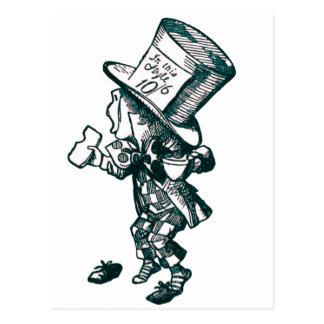 Der wütende Hutmacher Postkarte