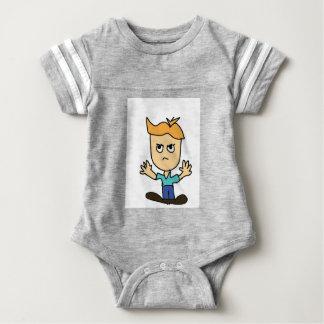 der wütende KinderCartoon Baby Strampler