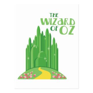 Der Zauberer von Oz Postkarte