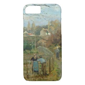 Der Zaun, 1872 (Öl auf Leinwand) iPhone 8/7 Hülle