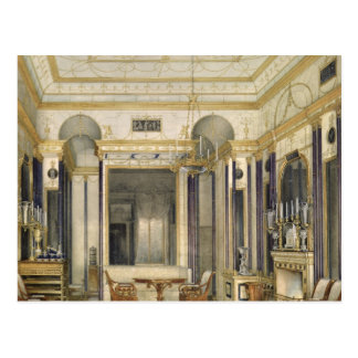 Der zeichnende Raum der Kaiserin Maria Postkarte