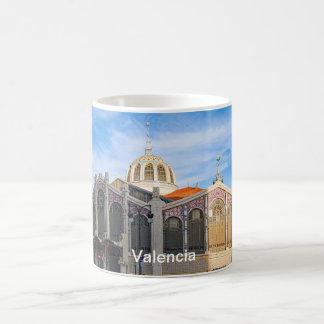 Der zentrale Markt von Valencia Kaffeetasse