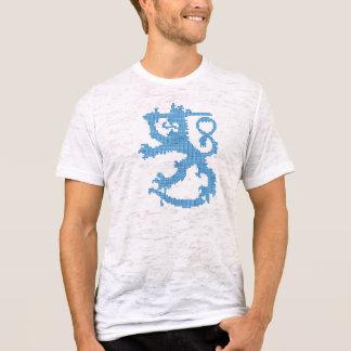 Der zerstörte T - Shirt der Sisu Löwe-Männer