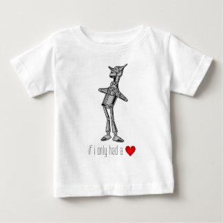 """Der ZinnWoodsman """"wenn ich hatte nur ein Herz """" Baby T-shirt"""