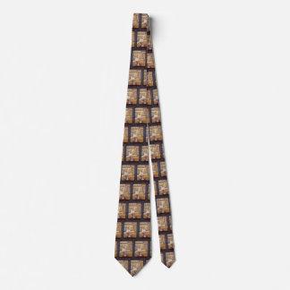 Der Zirkus durch Georges Seurat, Vintager Personalisierte Krawatte