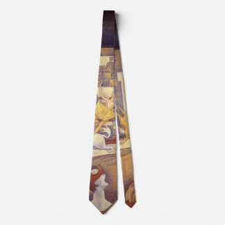 Der Zirkus durch Georges Seurat, Vintager Personalisierte Krawatten