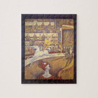 Der Zirkus durch Georges Seurat, Vintager Puzzle