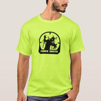 Der Zombie-Jäger-T-Shirt der Männer T-Shirt