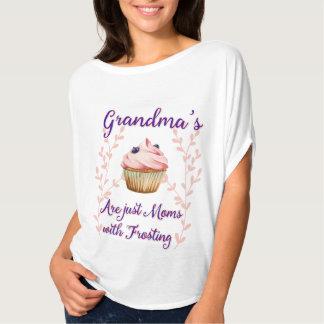 Der Zuckerguss-Typografie der Großmutter T-Shirt