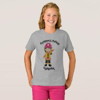 Der zukünftige Feuerwehrmann des Großvaters T-Shirt
