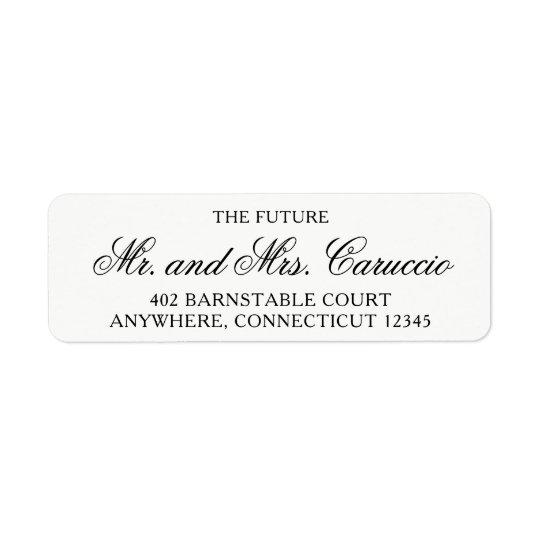 Der zukünftige Herr und die Frau