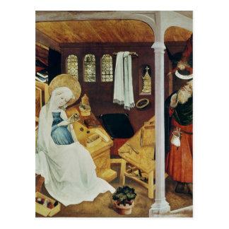 Der Zweifel von St Joseph, c.1410-20 Postkarte
