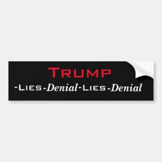 Der Zyklus-Autoaufkleber des Trumpfes Autoaufkleber