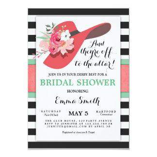 Derby-Brautparty-Einladungs-Abnutzung ein Karte
