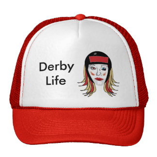 Derby-Leben-Fernlastfahrerhut Trucker Mützen