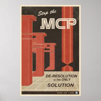 Deresolution ist die einzige Lösung Poster