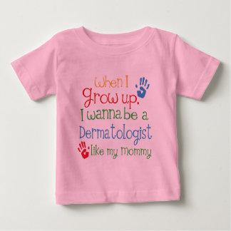 Dermatologe (Zukunft) wie meine Mama Baby T-shirt