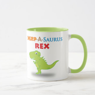 Derpy Dino Cartoon-Tasse Tasse
