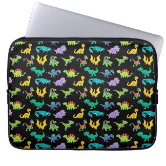 Derpy Dinosauriermuster Laptop Sleeve