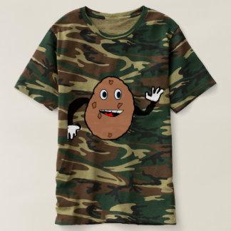 derpy Kartoffel-Camouflage T-shirt