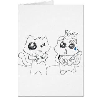Derpy Katz Spielen Karte