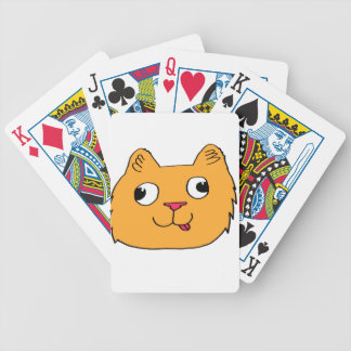 Derpy Katze Bicycle Spielkarten