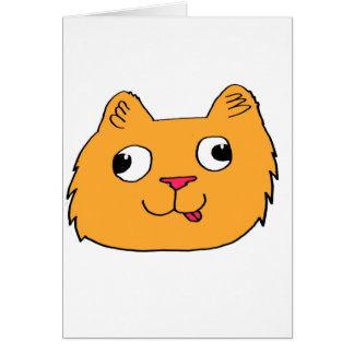 Derpy Katze Karte
