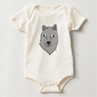 Derpy Wolf Baby Strampler