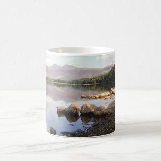 Derwent Water See-Bezirk Cumbria Andenken-Foto Kaffeetasse