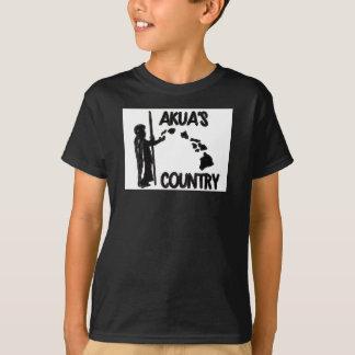 Des Akuas der Kinder Land Hanes Tagless T-Shirt