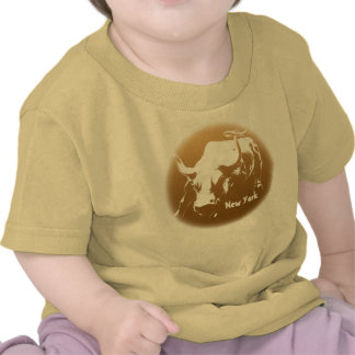 Des Babys Baby-Stier-Andenken-Shirt das New-