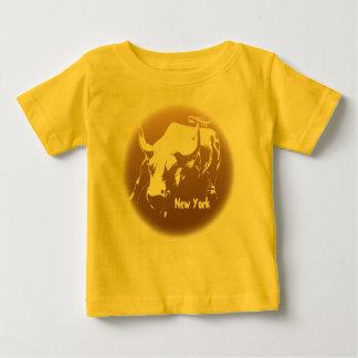 Des Babys Baby-Stier-Andenken-Shirt das New- Hemd