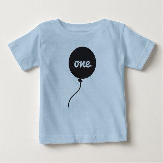 Des Babys erstes Blau der Geburtstags-des Shirt-| Baby T-shirt